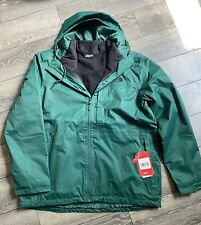THE NORTH FACE (ARROWOOD) Triclimate 3-in-1 Parka Jacket Coat Green L NEW