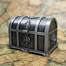 Pirates of the Caribbean Treasure Chest Vintage Jewelry Box Carry Case Size M  G