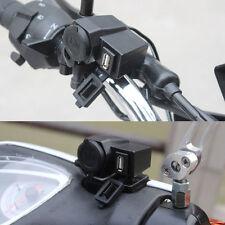 wasserdicht Motorrad Zigarettenanzünder USB Buchse Steckdose Adapter Lenker 12 V