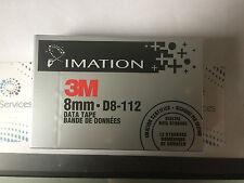 Imation 3M 8mm DATA Tape D8-112 New