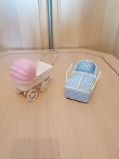 Old dolls' carriages (it esters GERMANY) & A Carrying Bag (Vama Made in Italy)
