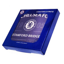 Official Chelsea Football Club Coasters Set Pack Of 4 Ideal Gift