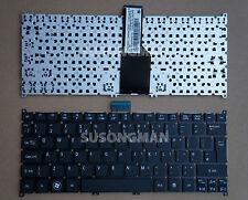 New For Acer Aspire One 756 725 Keyboard No Frame Black UK