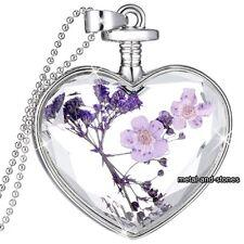 Inusual regalos para su corazón púrpura Collar De Mujer Joyería Navidad Mamá Tía Hermana