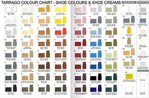 Tarrago Leather Shoe Boot Polish Cream 50 ml Jar (1.76 oz) (Colors 1 - 59)