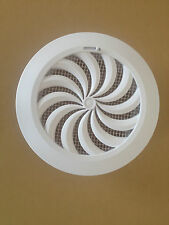 "adjustable circle air vent grille cover  ventilation cover 100mm  4"" T95series"