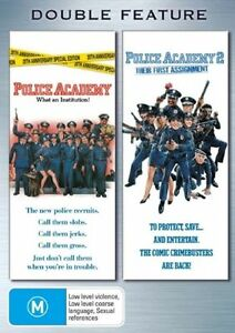 Police Academy 01 & 02 Double Pack (DVD, 2006, 2-Disc Set)Excellent Condition*