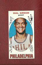 1969-70 TOPPS #84 HAL GREER (HOF)  PHILADELPHIA SIXERS    NMT+ / NMMT