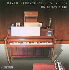 David Rakowski: Etudes, Vol. 3 by Amy Briggs, Piano (CD, 2009, Bridge)