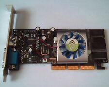 AGP card GeForce4MX 440-8X Ver D 64MB DDR TV-out VGA MX440