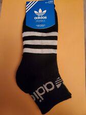 Adidas Socks large black quarter