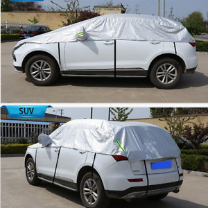 SUV Semi-body Car Cover Waterproof Snow Rain Resistant All Weather Protection