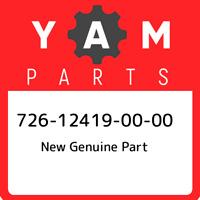 726-12419-00-00 Yamaha New genuine part 726124190000, New Genuine OEM Part