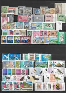 SAMOA @ YEAR 1942-69  MNH  @ Aus.204   2 Scans