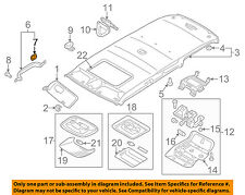 MITSUBISHI OEM 04-12 Galant Interior-Roof-Grip Handle Plug MR471070