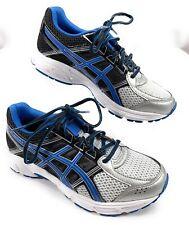 Asics Gel Contend 4 Running Shoes Black Blue White Men's 5.5, Women's 7, EUR 38