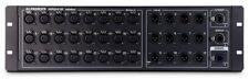 Allen & Heath Ar2412 24 in 12 out Main Audio Rack Black (new)