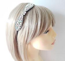 kylie band SALE * Gorgeous ivory lace elasticated headband headwrap