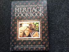 Australian Family Circle Heritage Cookbook Hardcover Vintage 1988 Beautiful