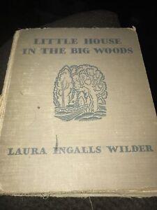 Little House in the Big Woods, Laura Ingalls Wilder, 1932, SD, MN ephemera