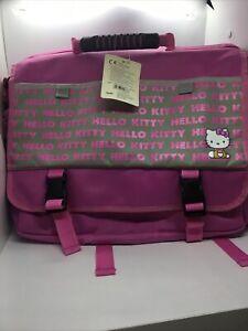 Sanrio Hello Kitty Large Messenger  Bag  pink & light gray 2 way shoulder bag