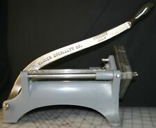SHAVER SPECIALTY KEEN KUTTER SHOE STRINGER FRENCH FRY/ VEGETABLE SLICER 1/4""