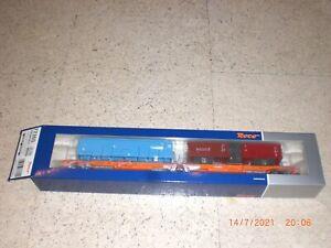 Roco 77360 Doppeltaschen-Gelenkwagen, Wascosa   NEU/OVP