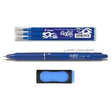 1 Pilot Frixion Clicker 0.7 blau + 3 Ersatzminen 0.7 blau + Radierer gratis