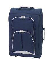 Handgepäck ca. 55 x 33 x 20 cm Bordcase Blau mit 2 Skaterrollen Bordgepäck 1,4kg