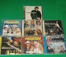 Country CD Lot 7 Toby Keith (2) Randy Travis (1) Country Hits 2005-2007 (4)