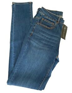 Tailored Athlete Premium Stretch Jeans Size 32W x 34L  Muscle Fit Tall Mid Blue