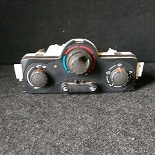 RENAULT SCENIC HEATER CONTROLS 2005 A/C (No.2)