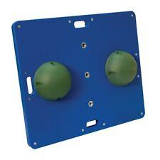 """CanDo Balance Board Combo 15"""" x 18"""" wobble/rocker board-2"""" height-green-48488"""