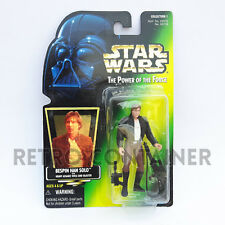 STAR WARS Kenner Hasbro Action Figure - POTF POTF2 - Han Solo (Bespin Outfit)
