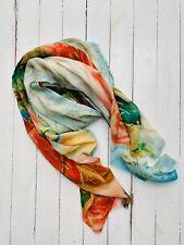Diana Wilson Arcana Cotton Modal Shawl / Wrap 'Swan' Brand New RRP £95