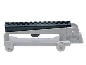 Black Aluminum 20mm Top Rail See Through Carry Handle Scope Mount