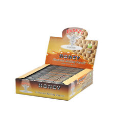 HORNET HONEY FLAVORED ROLLING PAPERS 110MM KING SIZE CIGARETTE ROLLER Full Box