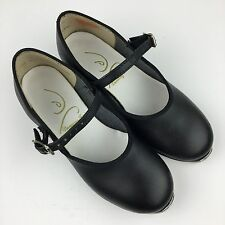 Dancing Fair Black Strappy Buckle Tap Dance Shoes GIRLS SIZE 10.5M