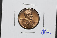 1967 Lincoln Memorial One Cent USA - MS64 - Full RED
