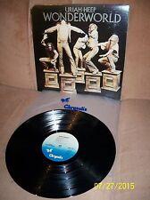 URIAH HEEP Wonderworld 1974 Chrysalis LP CHR-1227 EXC-/EXC w/sleeve
