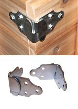 4 PC. Stake Body Gates Corner Brackets Trailer Wood Sides Latch Rack PK-SB1set