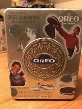 Nabisco Only Oreo Commemorative Tin Sandwich Cookie 1999
