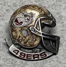 San Francisco 49ers 1990's Football Helmet Lapel Hat Pin [S]