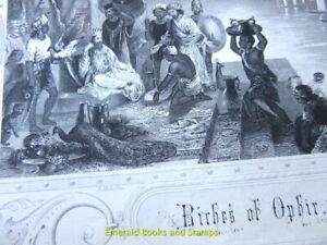 EBS 19th Century Original Steel Engraving: The Riches of Ophir 171
