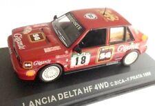 1/43 LANCIA DELTA HF 4WD 1988  BICA PRATA RALLY  IXO ALTAYA DIECAST