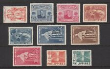 (RP52) PHILIPPINES - 1952 COMPLETE YEAR STAMP SETS. MUH