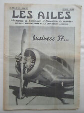 AILES 1937 831 SPARTAN ARADO AR68 BENES MRAZ SCAPHANDRE BLOCH PAULHAN POTEZ 63