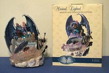Classic Treasures Musical (Chariots Of Fire) & Lighted Merlin & Dragon Sculpture