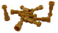 Lego 10 Stück Fernrohr in perl gold Fernglas Telescope 64644 Neu