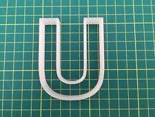 Alphabet Letter U cookie cutter